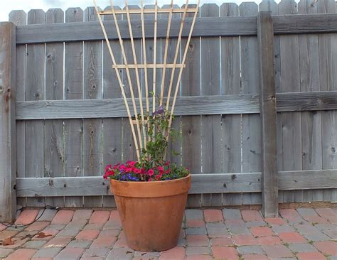 build a garden trellis how to build a trellis from two fence boards brian benham