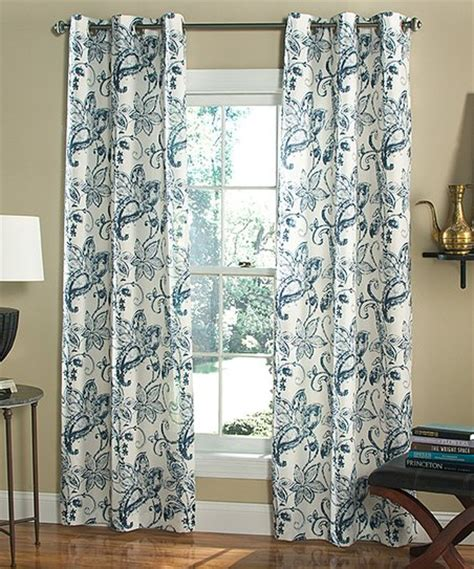 M Style Batik Blossom Curtain Panel Set Of Two Zulily