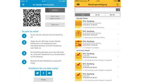 Dhl Paketschein Online Ausdrucken by Paketschein Per App Wie Zufrieden Seid Ihr Mit Den Apps