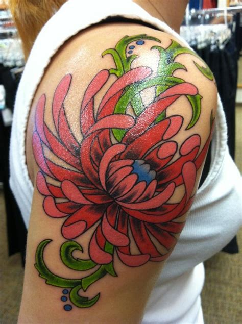 november birth flower tattoo chrysanthemum tattoos chrysanthemum tattoo reference tattoos karla likes