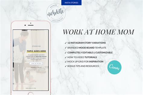Wahm Instagram Stories Instagram Story Template Canva