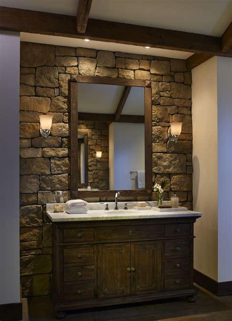 stone wall bathroom 12 best the home spa images on pinterest eldorado stone