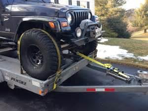 Can U Put Car Tires On A Trailer Penske Car Carrier Trailer Rental W Large Tires My
