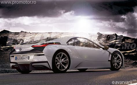 bmw z10 supercar renderings of bmw vision efficientdynamics concept