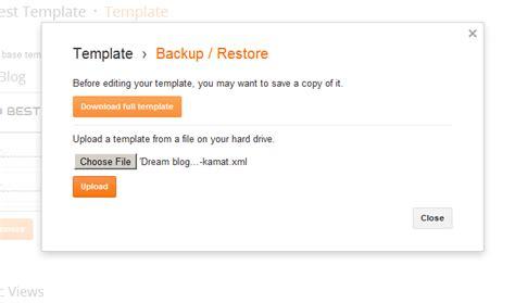 Upload Xml Template File On Blogger Stramaxon File Upload Website Template