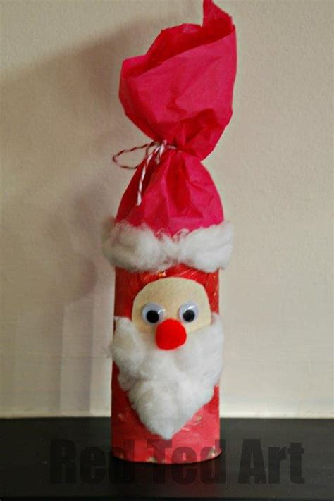 santa toilet paper roll craft toilet roll santa nikolo ted s
