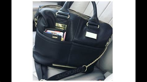 Burch Tote Vs Steve Madden Bag by What S In My Bag Steve Madden Bmonay