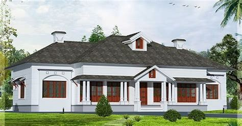 colonial style 5 bedroom victorian style house kerala single floor 4 bedroom victorian style villa kerala