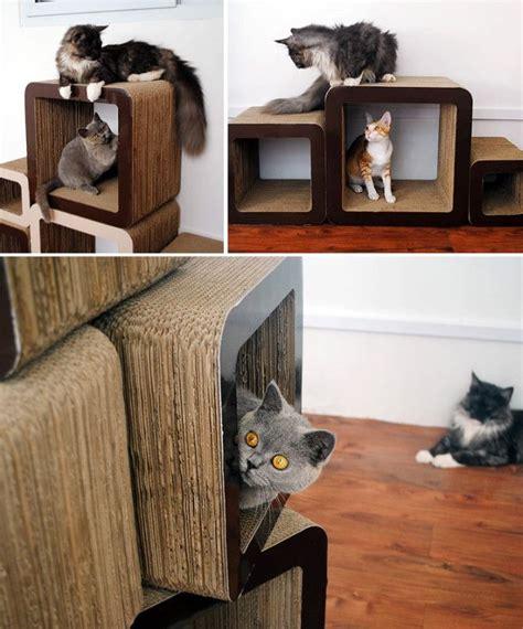 unique cat beds 1000 ideas about cardboard cat scratcher on pinterest