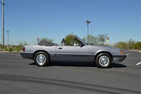 car owners manuals for sale 1985 ford mustang free book repair manuals 1985 ford mustang gt convertible 7k original miles benchmark car 5 spd manual classic ford