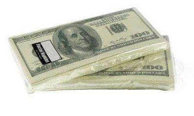 money napkins 100 dollar bill 2 pack 20 napkins total for 5 11