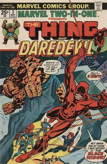 the thing marvel comic book marvel two in one 3 a may 1974 comic book by marvel