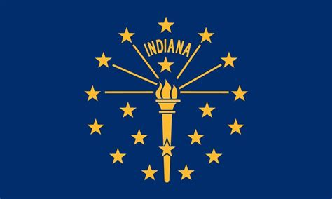 coloring page indiana state flag indiana state flagworld of flags world of flags