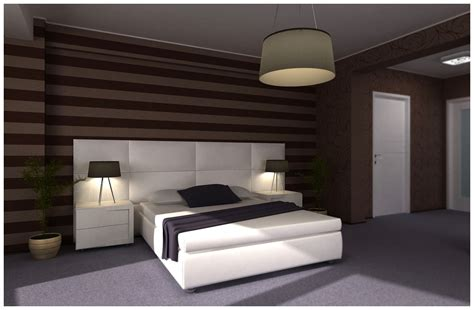 bedroom design brown home decoration live