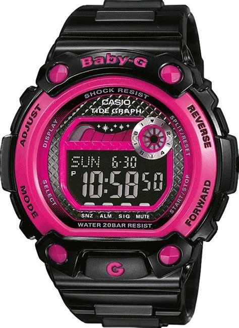 Baby G Casio Adventure Pink Black 26 best images about water resistant watches on green and pink