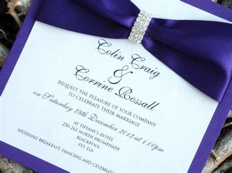 royal purple wedding invitations royal blue and purple wedding the merry