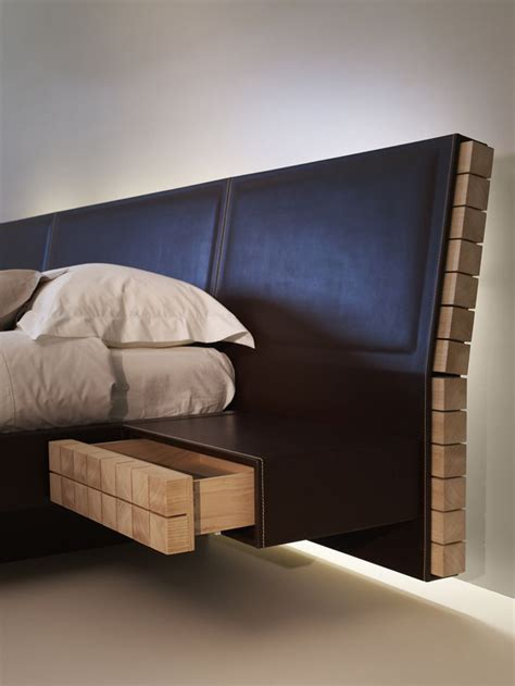Leather Headboard Diy by 25 Best Ideas About Leather Bed On Leather