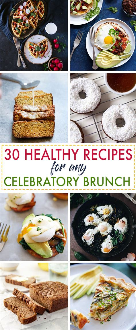 S Clean Kitchen Recipes by 30 Healthy Recipes For A Celebratory Brunch S Clean