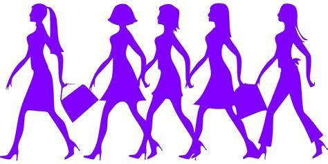 Target Wall Art Stickers vector gratis mujeres compras siluetas p 250 rpura