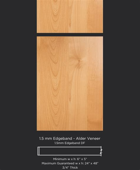 veneer kitchen cabinet doors 1 5 mm edgeband hickory veneer taylorcraft cabinet door company