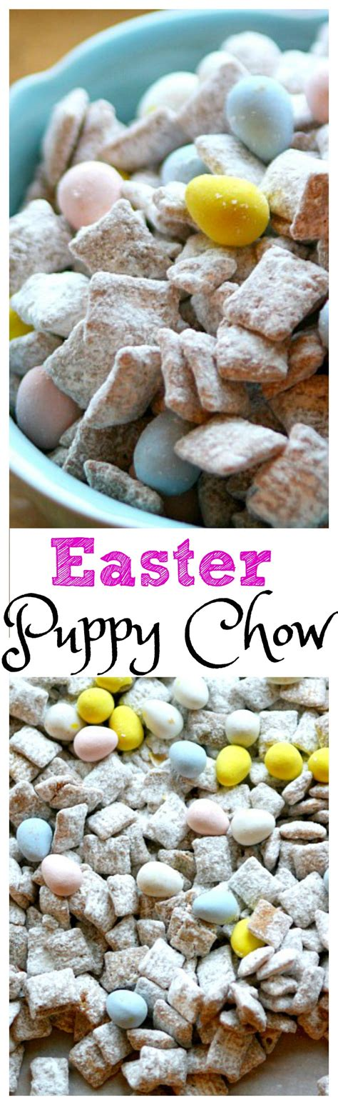 easter puppy chow easter puppy chow with robin eggs the report