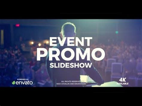 Event Promo Template Free Event Promo Conference Opener Best Stunning After Effects Templates By Nick Chvalun Youtube