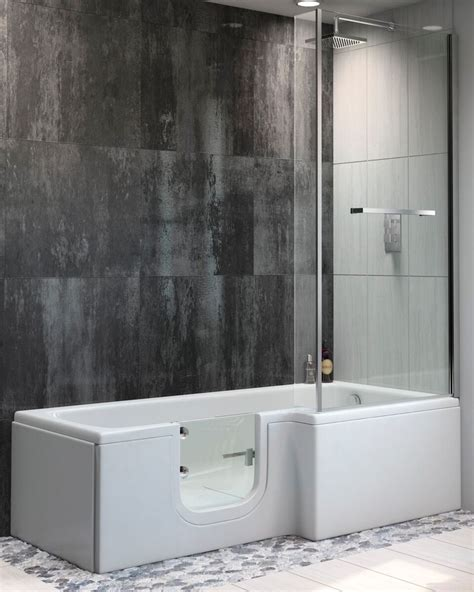 bathtub in shower walk in baths shower baths more to suit all budgets and