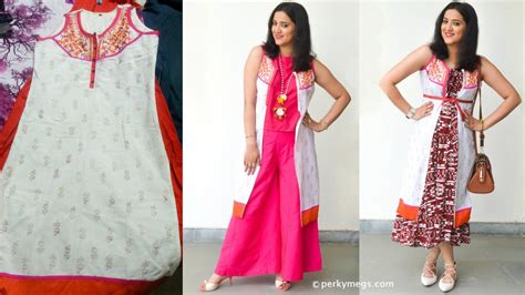 jacket pattern kurta for ladies reuse old kurti and convert it into jacket kurti styling