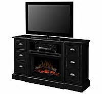 Maddox Electric Fireplace by 41 7 Quot Bond Rustic Wood Electric Fireplace