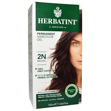 2n hair color herbatint意大利染髮2n 啡色