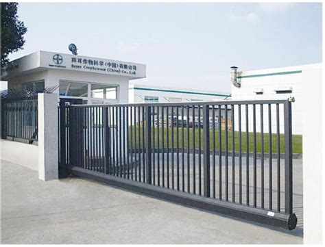 Home Design Decoration by Electric Gate Sliding Gate Nantian China Manufacturer