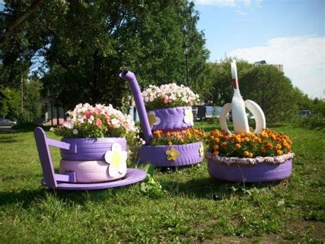 tire flower beds 20 beautiful flower beds recycling old cars and tires