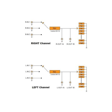 shunt resistor attenuator khozmo acoustic attenuator stereo 48 shunt cms 50k 1 audiophonics
