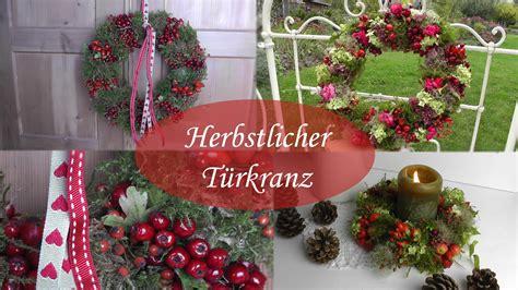 dekoration herbst diy herbstdeko selber machen i t 252 rkr 228 nze aus moos