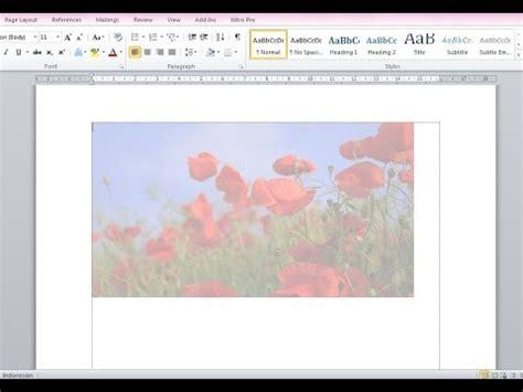 membuat gambar transparan di word cara membuat gambar transparan di microsoft word youtube