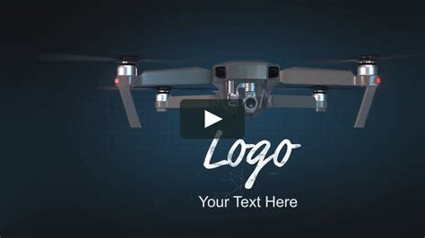 Drone Logo Opener After Effects Templates On Vimeo Drone Intro Template
