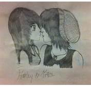Emo Couple Drawing  My Drawings Pinterest
