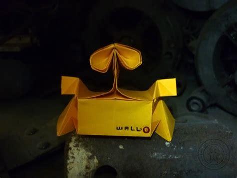 Wall E Origami - origami wall e galletita de jengibre