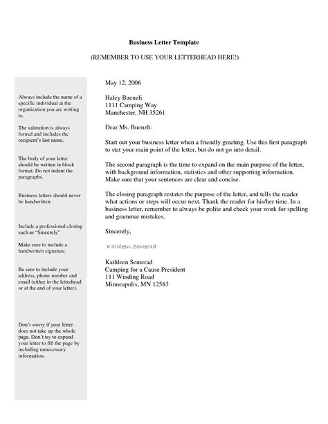 formal letter multiple recipients printable docx