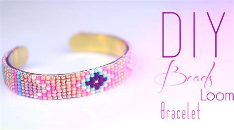 DIY   Tutoriel : Bracelet en perles tissé Navajo et Azteque fabriqué avec un métier à tisser