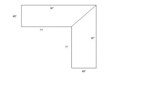 20 Best Photos Of L Shaped Desk Measurements L Shaped L Shaped Desk Dimensions