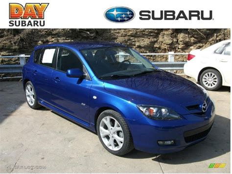 2008 blue mica mazda mazda3 s touring hatchback 26832081 gtcarlot car color