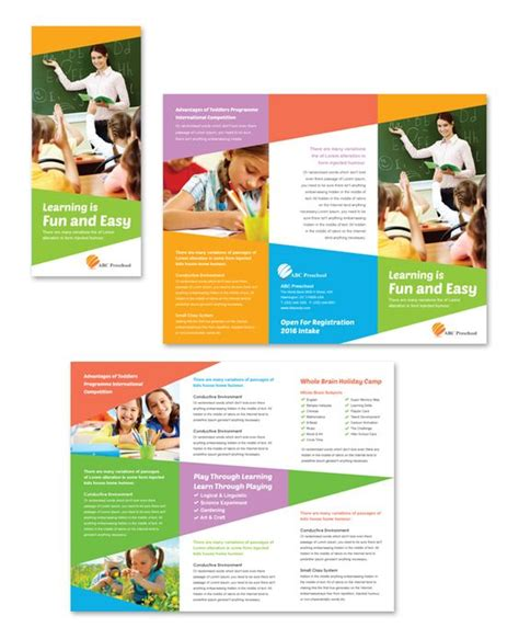 educational brochure templates the world s catalog of ideas