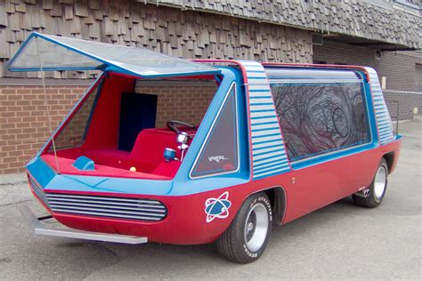 1966 DODGE TRADESMAN A 100 BARRIS CUSTOM SUPERVAN   188806