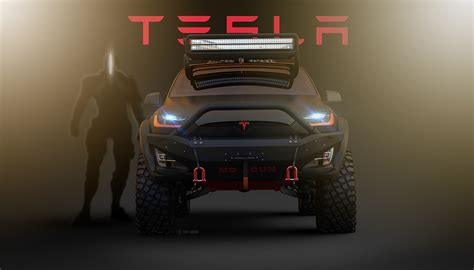 tesla off road vehicle tesla model x off road conversion looks like the real deal