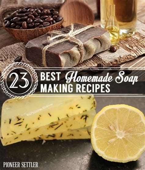 Best Handmade Soaps - 23 different ways to make soap home and soap bar