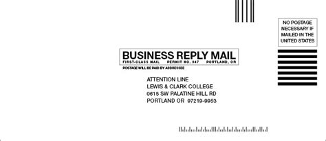 business reply mail template images templates design ideas