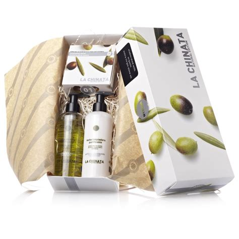 Set Olive 3w la chinata s organic skin care small gift set