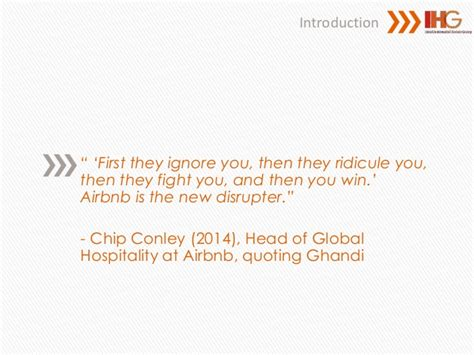 airbnb react the digital disruption of airbnb and how ihg should react