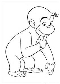 curious george coloring pages kids